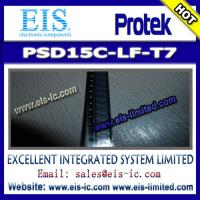 Buy cheap PSD15C-LF-T7 - PROTEK - STANDARD CAPACITANCE TVS ARRAY product