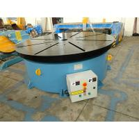 Buy cheap Horizontal Welding Motorized Rotary Table Positioner 10 T for 1400 mm Table Diameter from wholesalers