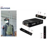Buy cheap Best HD Video Surveillance Easy Manpack 2*2 Mimo Systems 40MHz IP MESH UGV System product