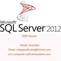 Buy cheap English Computer Software System SQL Server 2012 Standard from wholesalers