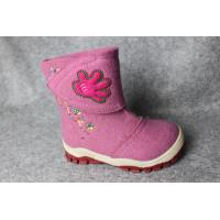 Buy cheap Women Winter Warm Ankel Felted Wool Boots, 100% Wool Felt Snow Boots from wholesalers