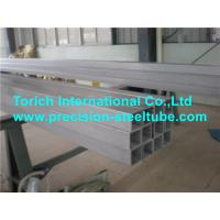 Buy cheap Cold Formed Special Welded Steel Tube , Seamless Carbon Structural Steel Square Tubing from wholesalers
