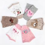 Buy cheap Breathable custom cute cartoon non slip grips tube cotton socks for baby girl from wholesalers