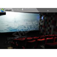Buy cheap Sound Vibration Motion Imax Movie Theater Red For Shopping Center product