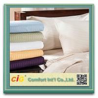 Buy cheap Polyester / Cotton Hotel Bed Sheet Sets Home Textile Microfiber Printing from wholesalers