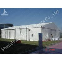 Buy cheap Rustless Hard Aluminum Structure Garden Party Canopy Tents White PVC Fabric from wholesalers