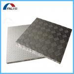 Buy cheap High strength Anti-slip Diamond Embossed finish Aluminum Honeycomb Composite Panel For flooring from wholesalers