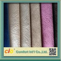 Buy cheap Contemporary Sofa Upholstery Fabric Polyester Burn Out Velvet product