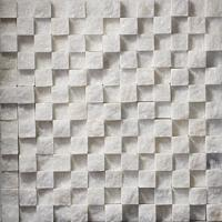 Buy cheap functional mingle brown&grey rustic stone mosaic for wall from wholesalers