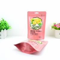 Custom Printed Biodegradable Aluminum Foil Ziplock Stand Up Pouch For Food