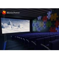 Buy cheap Blowing Wind / Water Spray 4D Movie Theater Equipment For Amusement Park from wholesalers
