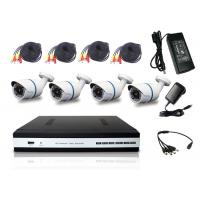 Buy cheap All In 1 HD DVR Kit Bullet Camera 1080P 4 Channel DVR Camera System P2P Cloud Service from wholesalers