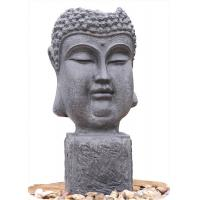 Buy cheap Outside Garden Buddha Head Fountain / Asian Outdoor Fountain With CE GS TUV UL from wholesalers