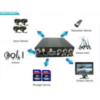 Buy cheap 4ch Multifunctional SD Card Mobile DVR 720p 3g 4g Wifi Mobile Bus Dvr With Gps from wholesalers