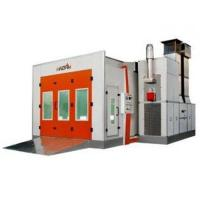 Buy cheap Turbo Fan Electrical Heat Downdraft Auto Spray Booths For Automobile Painting from wholesalers