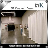 Buy cheap custom exhibition booth design using aluminum material pipe and drape kits from wholesalers