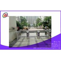 Buy cheap Outdoor Entrance Swing Barrier Gate Pedestrian Turnstiles With Passenger Counter Function from wholesalers