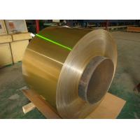 Buy cheap Air Conditioner Hydrophilic Coated Roll Of Aluminum Coil 0.06-0.2mm Golden 1100, 3003, 3102, 8011 from wholesalers
