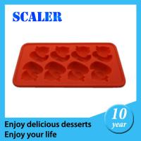 Buy cheap Silicone Ice Cube Tray  / Ice Ball Maker with custom Logo printed from wholesalers