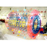 Buy cheap TPU Clear Inflatable Bumper Ball , Human Inflatable Body Zorb from wholesalers