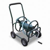 Buy cheap Hose Reel Cart with 8 x 1.75-inch Solid Tires and Cushion Grip product