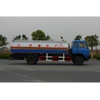 Professional Oil Tank Truck Dongfeng 12600L 4x2 , 150 - 250hp Tanker Logistics