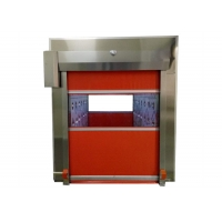 Buy cheap PLC Control Fast Shutter Door Air Shower Tunnel SUS 304 Frame product