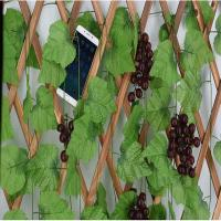 Buy cheap 2.3m Fake Ivy Leaves Garland Vine Creeper Grape Foliage Carton Packing from wholesalers