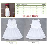 Buy cheap 2012 Summer Fashion Cute Cotton Baby Girls Dress and Casual Skirt With Cap sleeve from wholesalers