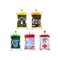 China FDA Stand Up Food Package Leak Proof Liquid Spout Pouch on sale