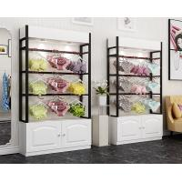 Buy cheap Colorful Underwear Clothing Display Racks With Cabinet 1200*400*2000mm from wholesalers