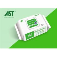 Buy cheap 35 - 70gsm Alcohol Based Cleaning Wipes , Medical Cleaning Wipes With Flavor from wholesalers