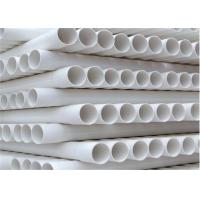 Buy cheap White Color UPVC Drainage Pipe Non Toxic High Pressure Resistance For Industrial Systems from wholesalers