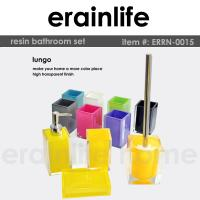 Buy cheap transparent polyresin bathroom set from wholesalers