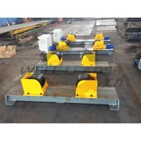 Buy cheap Carry 5 Ton Turning Rolls Welding , Rotator For 2300mm Diameter Self centering from wholesalers