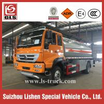 Buy cheap RHD 4X2 SINOTRUK Carbon Steel 12000L Fuel Bowser Fuel Tanker Truck from wholesalers