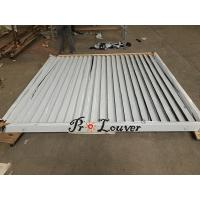 Buy cheap Aerofoil sun louvers,sun shade aluminium louvers,aluminum window shutter from wholesalers