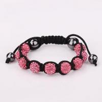 Buy cheap Popular Shamballa Bracelet Hot Seller in 2012 Pink from wholesalers