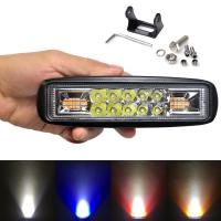 Buy cheap 6 inch Super Slim Mini Led Bar Work Light For Motorcycle 4x4 Offroad Signal Lamp External Warning Daytime Running Lights from wholesalers