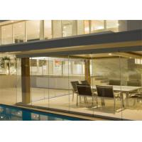 Buy cheap Outdoor Tempered Glass Balcony Railing Systems , Glass Balustrade Systems For Decking from wholesalers