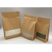Buy cheap Stand Up 5.6mil 13oz Printed Food Grade Paper Bag from wholesalers