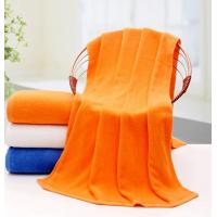 Buy cheap Hot sale 21S cotton+polyester blend plain terry bath towel for wholesale, 3colors available, logo embroidered if needed from wholesalers