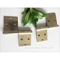 Buy cheap Removable Lift Off Cabinet Hinges  Folding Middle East Type Two Pieces Small Nickel Plated from wholesalers