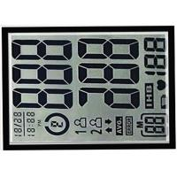 Buy cheap Character TN negative transmissive Graphic LCD Display 6 clock monochrome segment screen from wholesalers