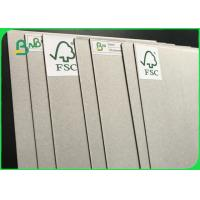 Buy cheap Anti-Curl Grey Paper Board Grey Laminated Chipboard For Sale With FSC Reporting from wholesalers