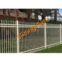 Buy cheap Decorative Courtyard Automatic Driveway Gates , Electric Metal Gates Heat Treated from wholesalers