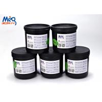 Abrasion Resistance LED UV Silk Screen Ink For Papers / BOPP Film / PVC