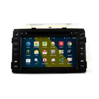 Buy cheap 7 2DIN android 4.4.4 car DVD GPS navigation HD 1024*600 for Kia SORENTO 2010 with WIFI 4G mirror link 4 core CPU from wholesalers