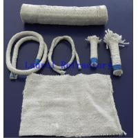 Buy cheap Boiler Insulation Ceramic Fiber Refractory Textiles Oil / Water Vapor Resistent from wholesalers