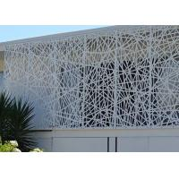 Buy cheap Beautiful Decorative Metal Panels Exterior , Decorative Steel Wall Panels ISO9001 Approved from wholesalers